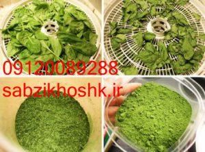 فروش سبزی خشک مرغوب